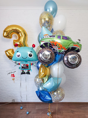 Воздушные шары мальчику