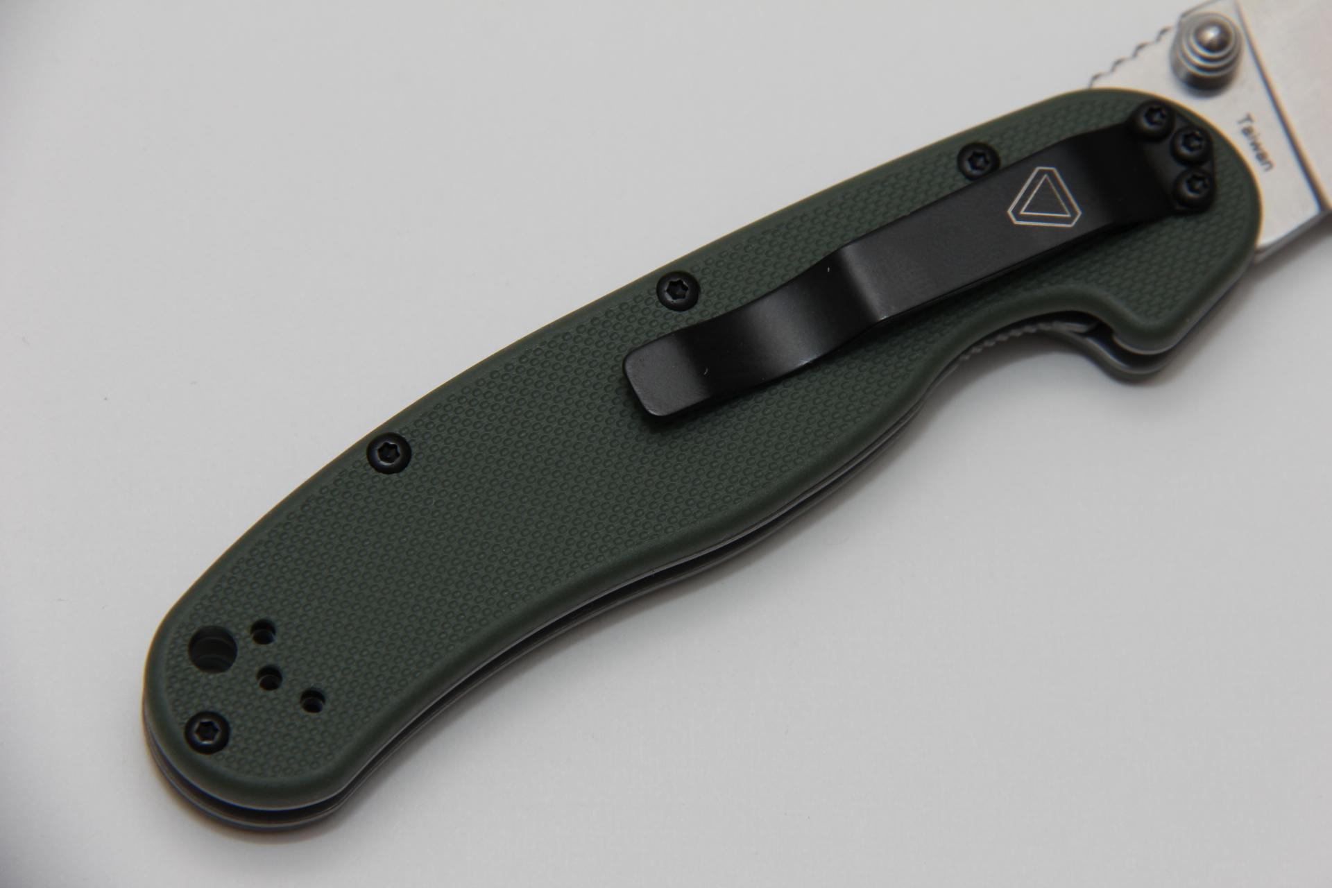 Нож Ontario Rat II folder ON8860OD зеленый - фотография