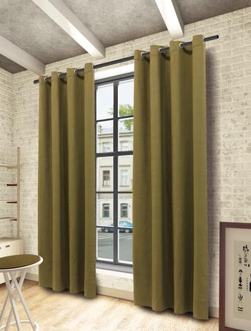 Готовая штора Алекса зеленый