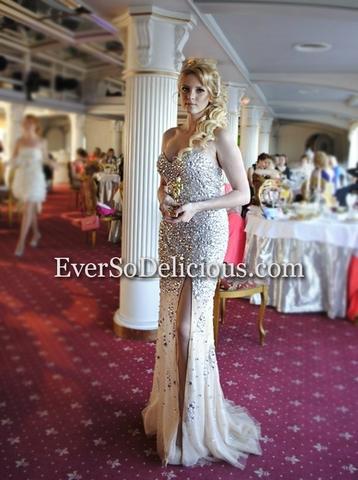 Выпускница Кристина в платье Jovani 4247
