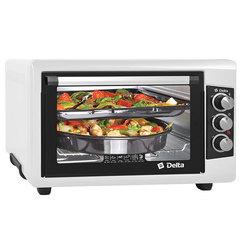Мини печь | Духовка электрическая 55л DELTA D-0550 белая