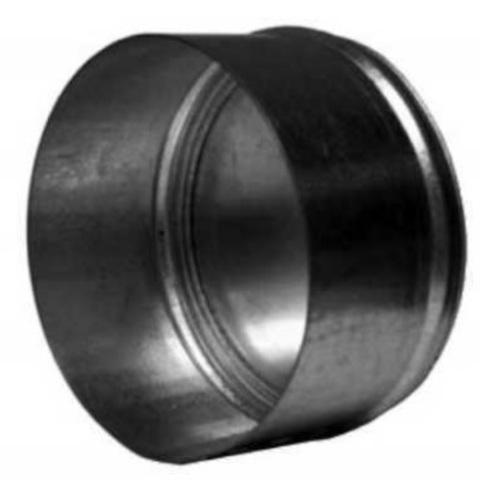 Заглушка D355 оцинкованная сталь