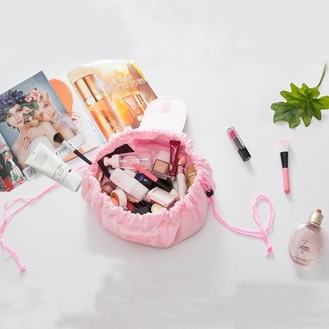 Женская косметичка-органайзер Travel Beauty bag Light pink