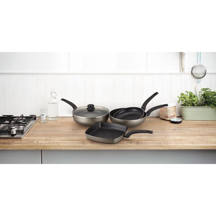 Сковорода-гриль антипригарная HEAT PEARL (26х26 см), арт. 30003709 - фото 1