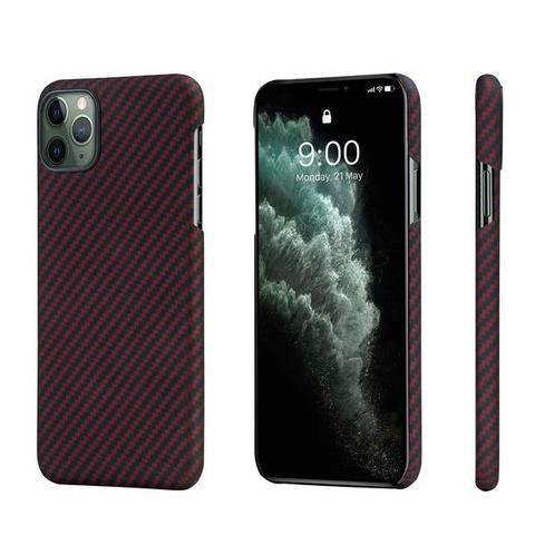 Чехол Pitaka MagEZ Case для Apple iPhone 11 Pro (Black/Red Twill)