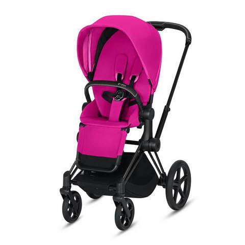 Прогулочная коляска Cybex Priam III Fancy Pink шасси Matt Black