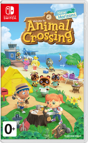 Animal Crossing: New Horizons (Nintendo Switch, русская версия)