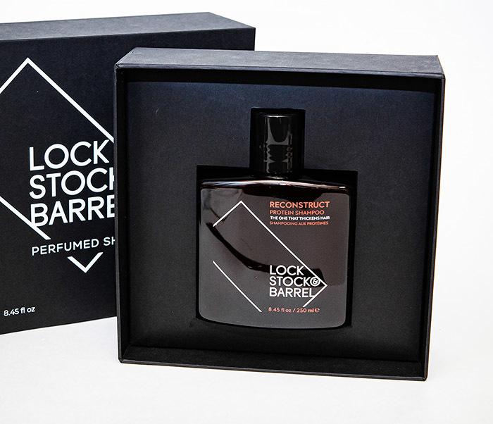 CARE173 Парфюмированный шампунь LOCK STOCK & BARREL RECONSTRUCT (250 мл)