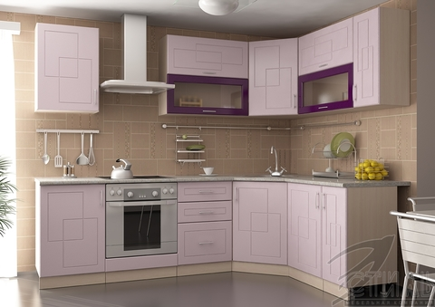 Кухня Виола угловая (Клетка 1) 2,45х1,65