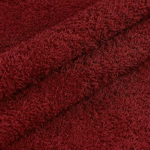 Махровая ткань 220 см 380гр/м2 цвет винный