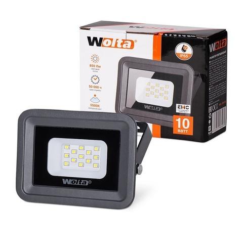 Прожектор светодиодный WOLTA WFL-10W/06 5500K 10W IP65