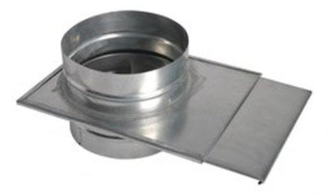 Шибер D 355 оцинкованная сталь