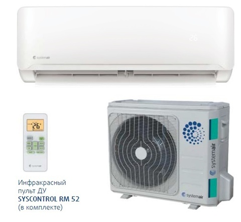 Systemair SYSPLIT WALL SMART 12 V4 HP Q