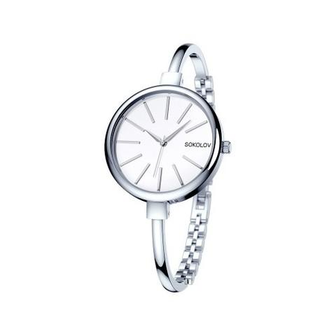 314.71.00.000.01.01.2 -Женские стальные часы от SOKOLOV