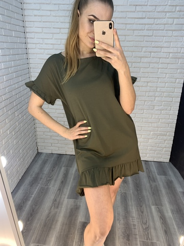 платье хаки летнее nadya