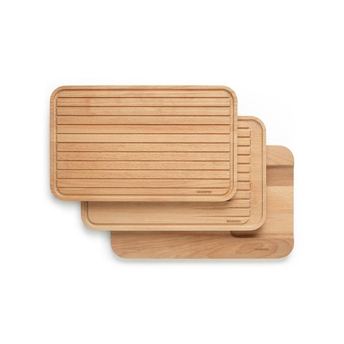 Набор деревянных разделочных досок, 3 пр., арт. 260780 - фото 1