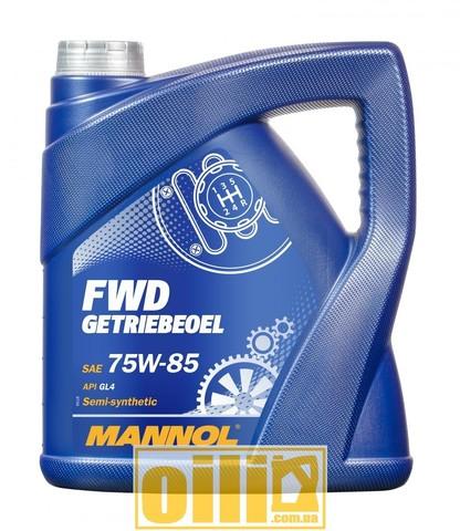 Mannol 8101 FWD GETRIEBEOEL 75W-85 GL-4 4л