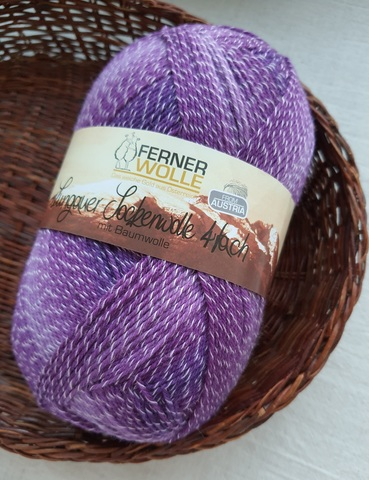 Ferner Wolle Lungauer mit Baumwolle 409 купить