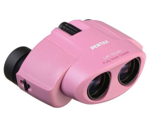 Бинокль Pentax UP 10x21 розовый - фото 1