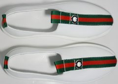 Модные спортивные туфли New Malange M970 white.