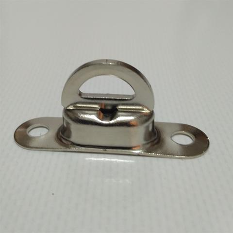 Скоба малая поворотная 22,5 х 13,5 мм, никель