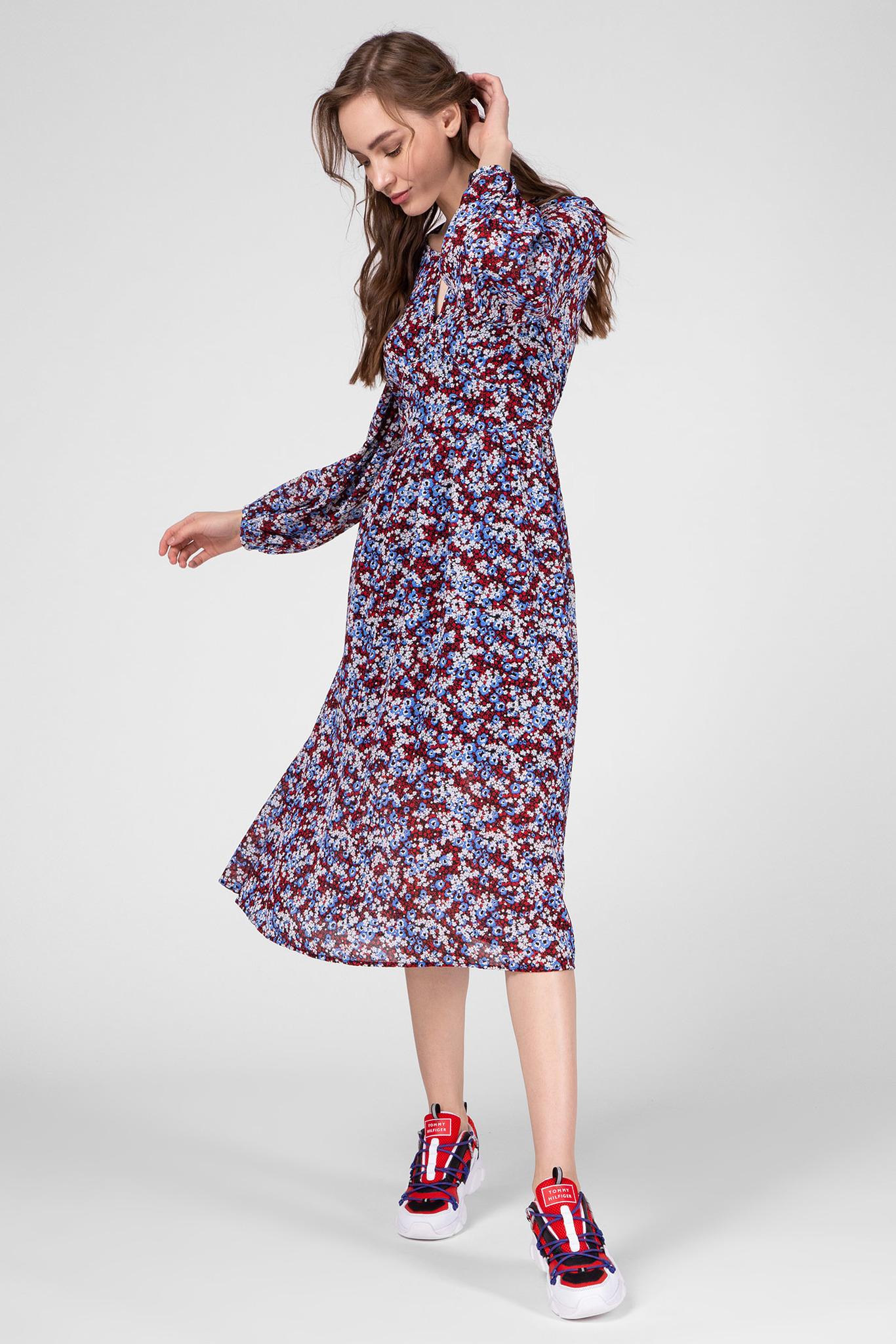 Женское платье с принтом KAESHA Tommy Hilfiger