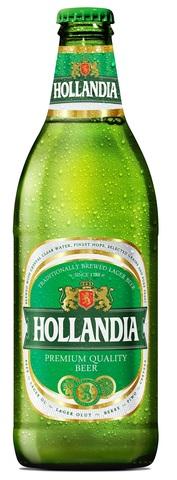 Hollandia / Голландия (светлое фильтрованное пастеризованное)