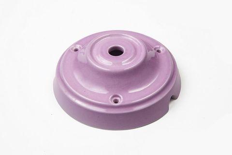 Чашка потолочная керамическая 1 вывод (Сиреневый)