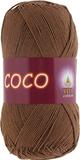 Пряжа Vita Coco 4306 шоколад