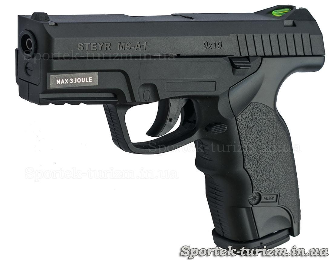 Пістолет пневматичний ASG Steyr M9-A1 4,5мм газобалонних, чорний