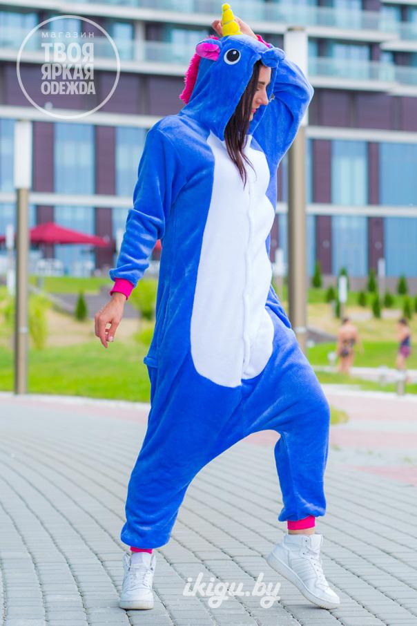 Пижамы кигуруми Единорог Сапфировый unicorn-sapfir2.jpg