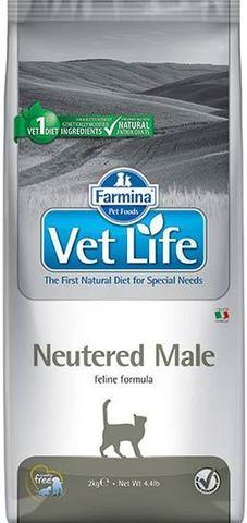 FARMINA Vet Life Сухой корм для кастрированых котов Cat Neutered Male