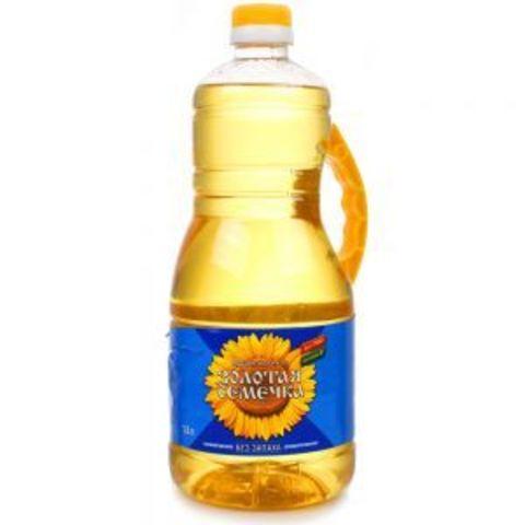 Масло подсолнечное Золотая семечка 1.8 л