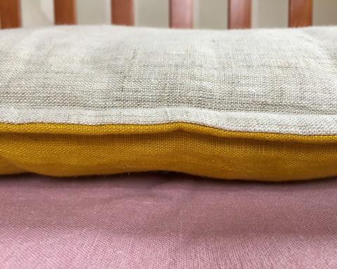 Наволочка льняная для детской подушки 60 х 40 см