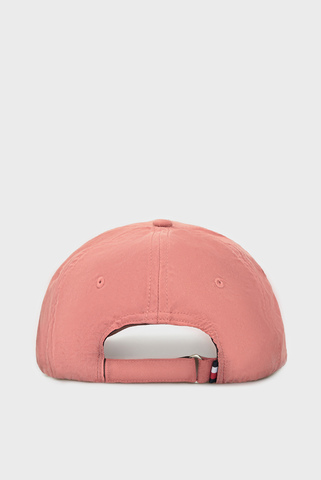 Женская розовая кепка TH LOGO Tommy Hilfiger