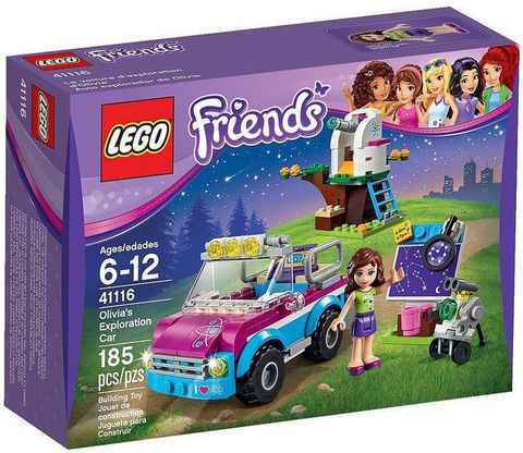 LEGO Friends: Звездное небо Оливии 41116 — Olivia's Exploration Car — Лего Друзья Продружки Френдз