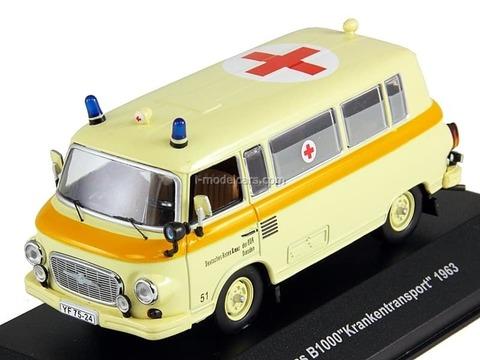Barkas B1000 Krankenwagen (medical) 1963 CCC066 IST Models 1:43