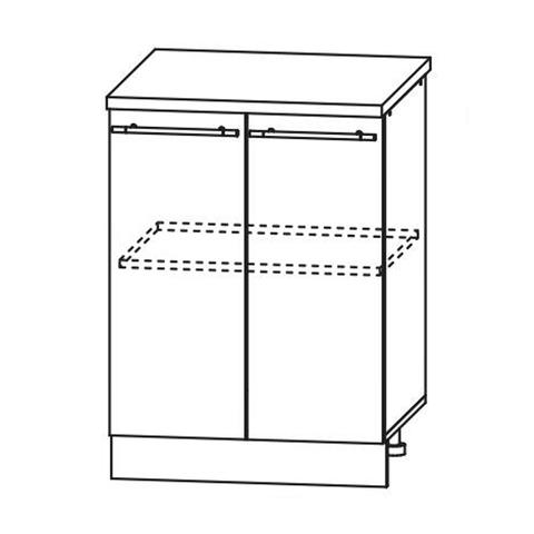 Кухня Вита шкаф нижний 850*600
