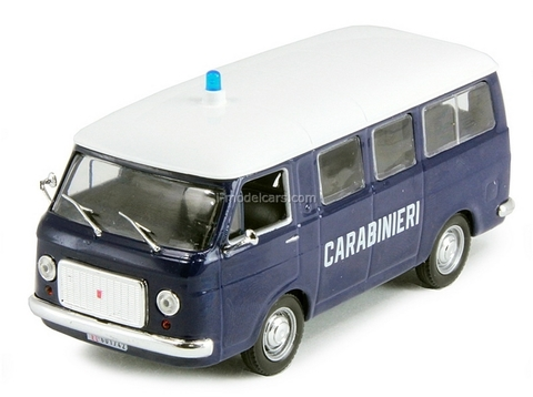 Fiat 238 Minivan Carabinieri Italian 1:43 DeAgostini World's Police Car #2
