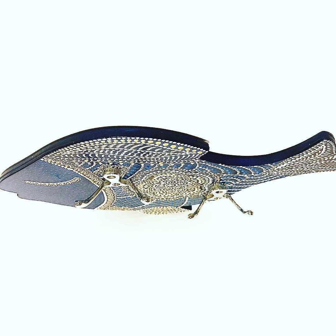 Ключница настенная Рыбка
