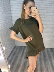 платье хаки летнее недорого