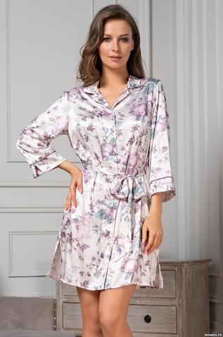 Халат-рубашка Mia-Amore 3547 (70% нат.шелк)