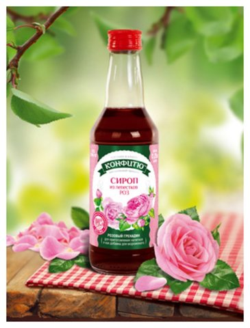 Сироп «Лепестки Роз»™Конфитю