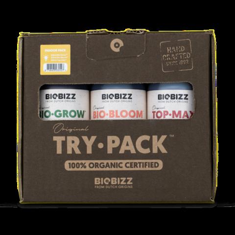 BioBizz Try pack Indoor 0.25 л Набор органических удобрений