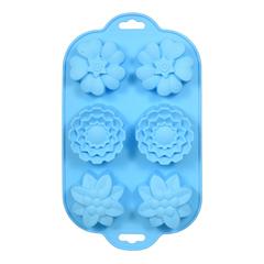 Форма из силикона «Цветочки» 29х17 см