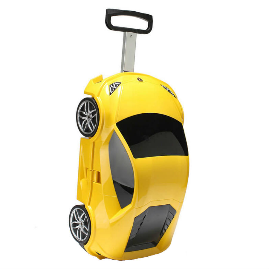 Товары для прогулки и путешествия с ребенком Детский чемодан на колесиках с выдвижной ручкой Суперкар detskiy-chemodan-na-kolesikah-superkar.jpg