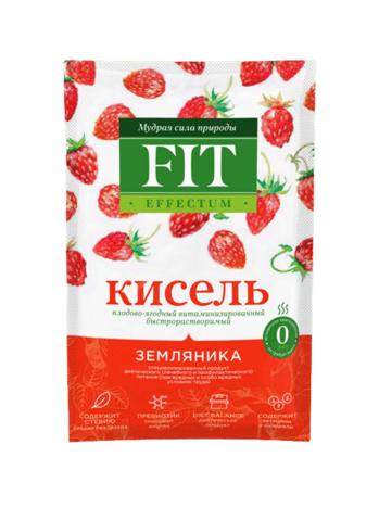 Кисель витаминизированный Земляника Effectum ФитПарад 30г