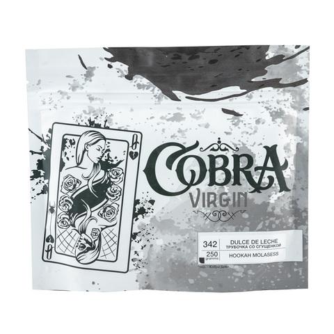 Кальянная смесь Cobra VIRGIN 250 г Dulсe de Leche