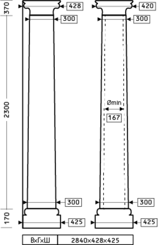 Колонна 1.30.304
