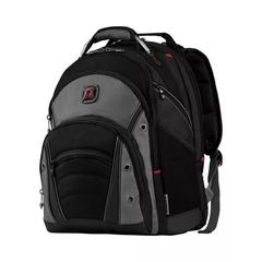 Рюкзак Wenger 16'', черный/серый, 36x26x46 см, 26 л